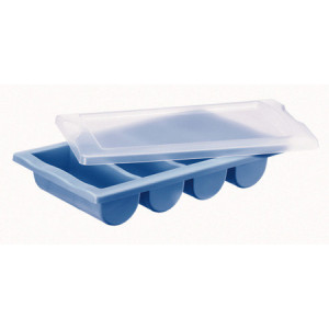 Ramasse-couverts Plastique Bleu
