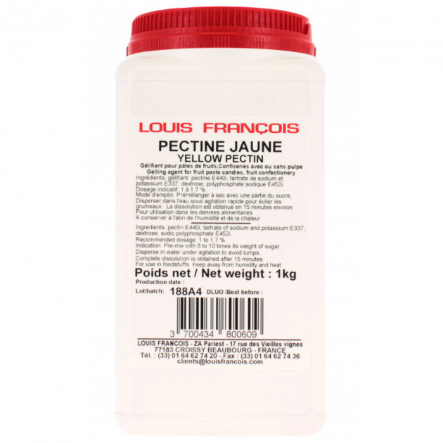 Pectine Jaune 1 kg Louis François
