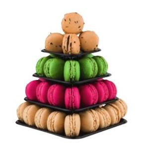 Mini-pyramide 48 Macarons