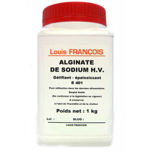 Alginate de Sodium H.V. 1 kg Louis François