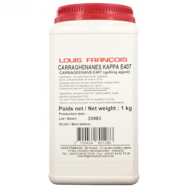 Carraghenanes kappa E407 1 kg Louis François