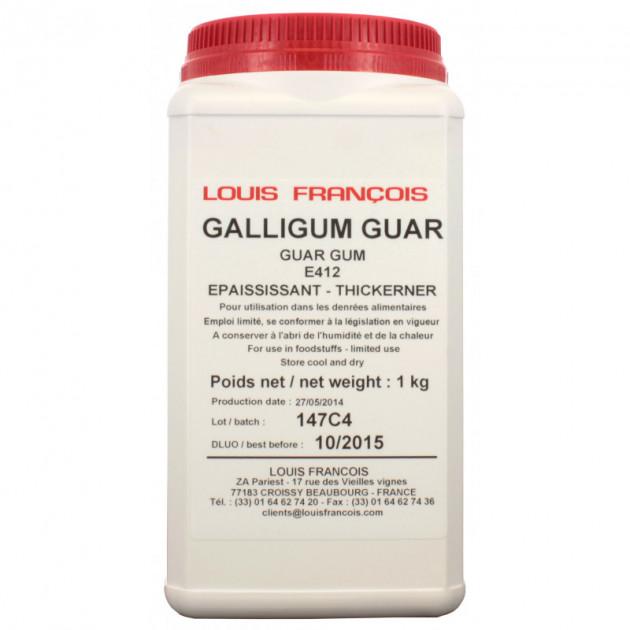 Gomme de Guar Galligum 1 kg Louis François