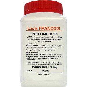 Pectine X 58 1 kg Louis François