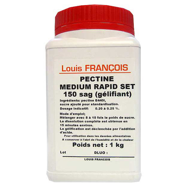 Pectine Medium Rapid Set 1 kg Louis François