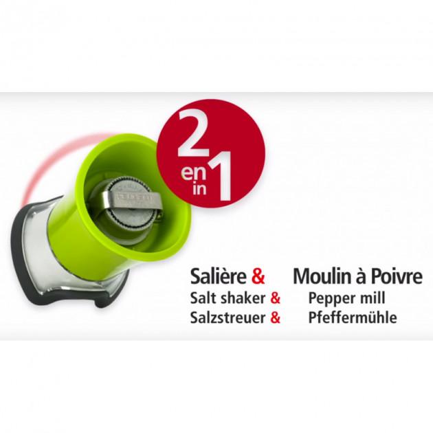 Moulin Pep's Peugeot = Double fonction : Saliere et Moulin a Poivre !