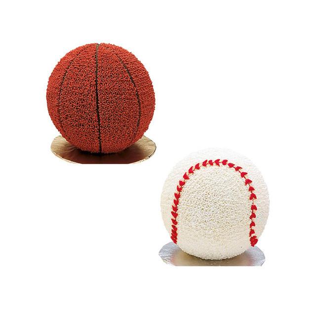 moule a gateau ballons de sport