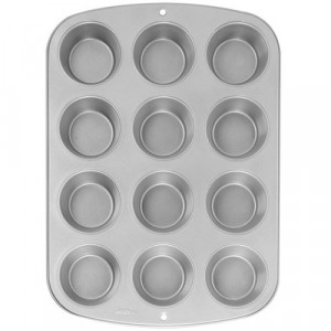 Moule mini Muffin Wilton 12 empreintes anti adhésif