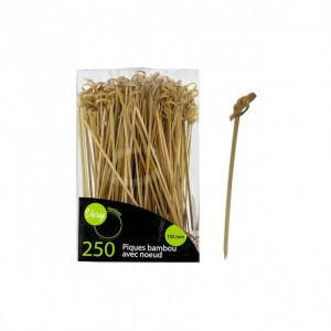 Pique en Bambou avec Boucle 15 cm (x250)