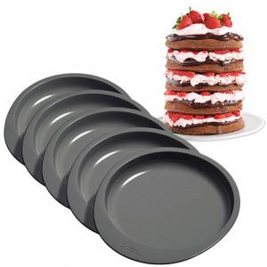 Moule gâteau à étages Rainbow Cake Wilton (x5)