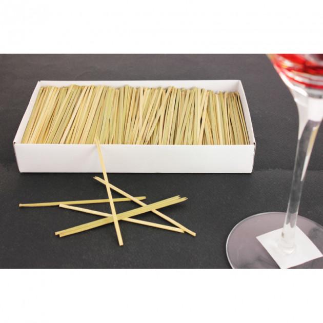 boite Pique a brochette en bambou 10.5 cm (x1000)