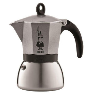 Cafetière Italienne pour Induction Anthracite MOKA Bialetti