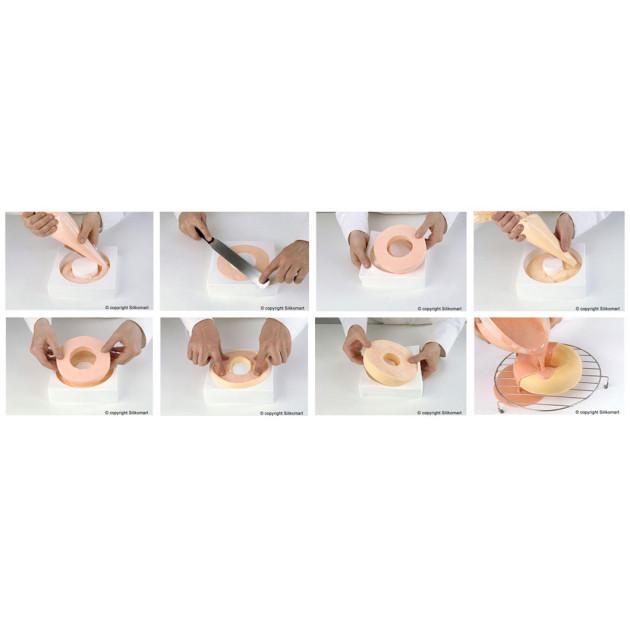 Mode d'emploi du moule silicone savarin et du moule silicone insert