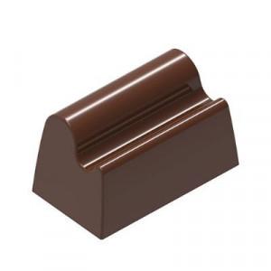 Moule Chocolat Bûchette Vague 34,71x20 mm (x24) Chocolat Form