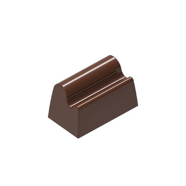 Moule Chocolat Bûchette Vague 34.71x20 mm (x24) Chocolat Form