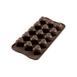 Moule à Chocolat 15 Coeurs Easy Choc - Silicone Spécial Chocolat