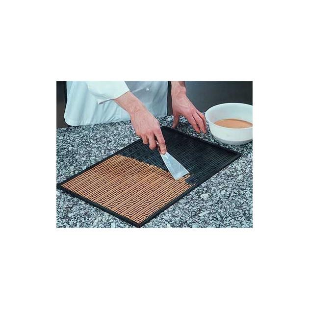Tapis Relief silicone - Etaler la pate a cigarette