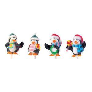 Pingouins Noël sur pique x50