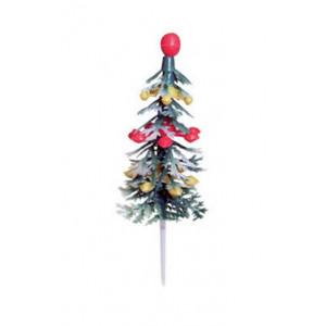 Sapin de Noël Décoré sur pique x72