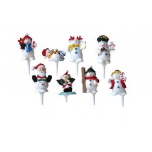 Sujets de Noël sur pique x50