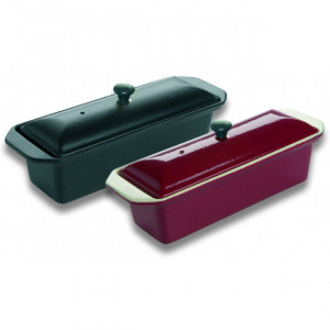 Terrine Rouge rectangulaire 1,1 l en Fonte