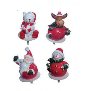 Sujets de Noël Boules en Résine x50