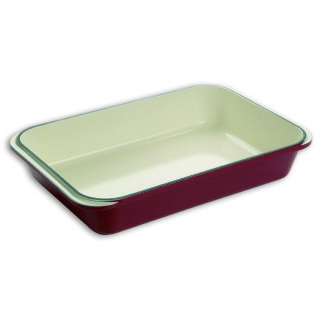 Plat a Rotir en Fonte 40 x 25 cm rectangulaire