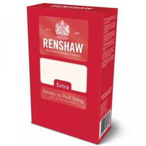 Pâte à sucre Extra Blanc 1kg Renshaw