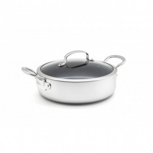 Sauteuse en Céramique Ø 26 cm + couvercle, collection BARCELONA EVERSHINE GreenPan