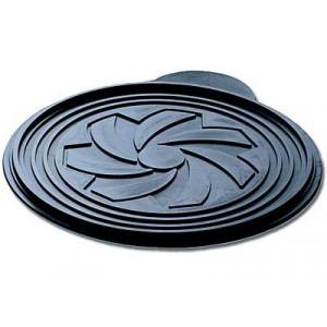 Disque relief silicone Décor Rosace