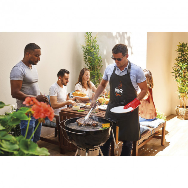 Presentation d'utilisation de la Pince a Barbecue