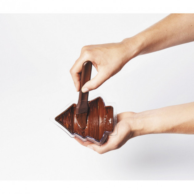 Utilisation du Moule Chocolat Sapin Mastrad