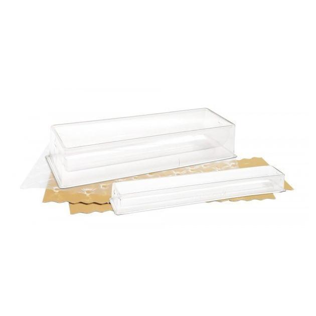 Kit Bûche Effet Matelasse avec Insert Plastique Scrapcooking