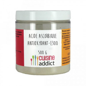 Acide Ascorbique E300 500 g Cuisineaddict