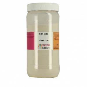 Agar-agar gélifiant E406 500 g Cuisineaddict