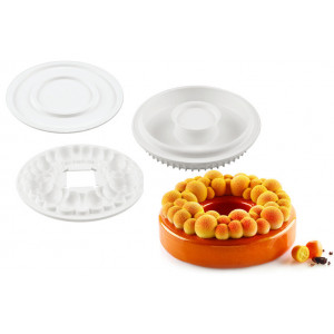 Kit Moule Silicone Couronne Bubble SilikoMart Professional