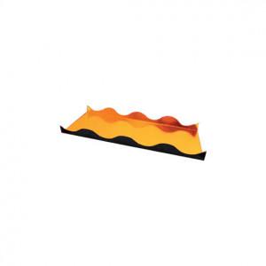 Semelle à Bûche 60x10cm Ondine Or (x50)