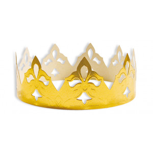 Couronne de Reine Bella Or x100