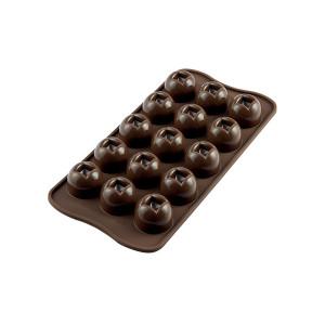 Moule à Chocolat 15 Boules Easy Choc - Silicone Spécial Chocolat