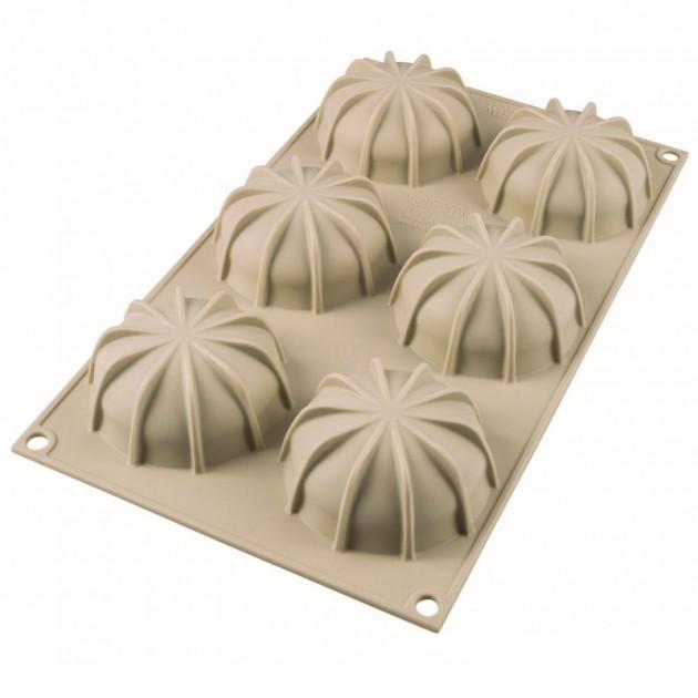 Exterieur du Moule Silicone Mini Goccia Ø6.8 cm Silikomart 3D Design
