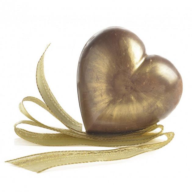 Exemple de realisation avec le Moule a Chocolat Coeur Mastrad
