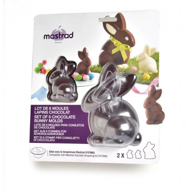 Moule a Chocolat Lapin (x6) Mastrad