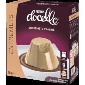 Entremets Praliné Nestlé Docello 1 kg