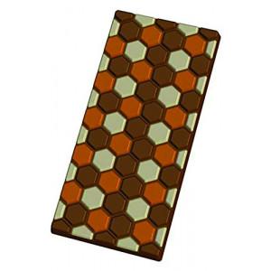 Moule Tablette de Chocolat Alvéoles x5