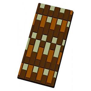 Moule Tablette de Chocolat Briques x5