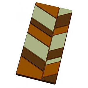 Moule Tablette de Chocolat Feuille x5