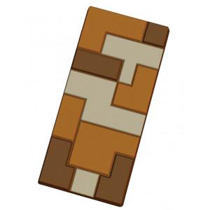 Moule Tablette de Chocolat Tetris x5