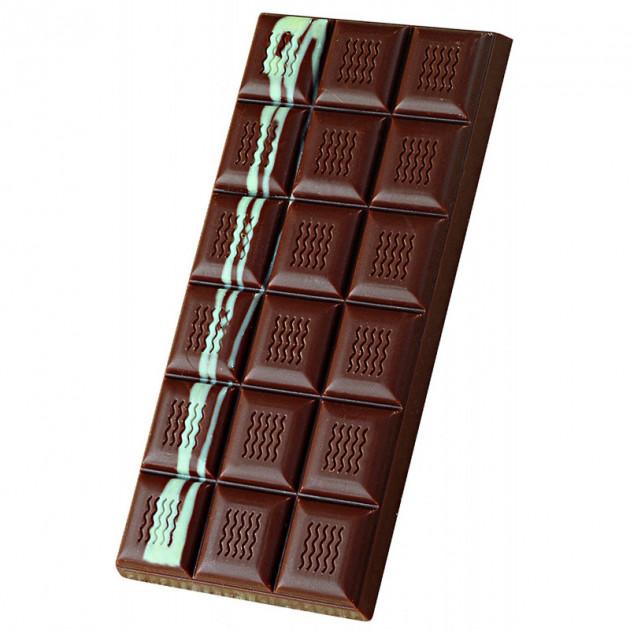 Moule Tablette de Chocolat Vague x3