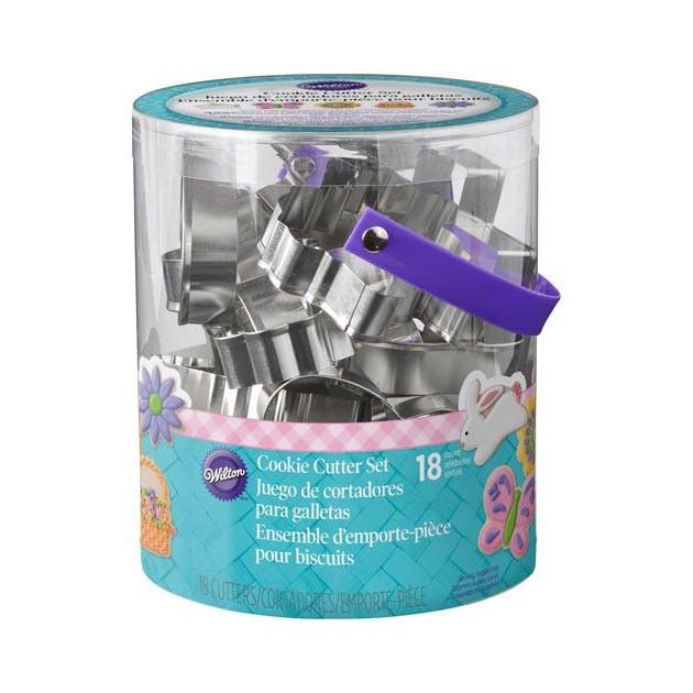 Emporte-Pieces de Paques en Metal (x18) Wilton