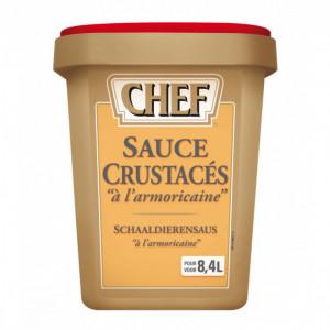 Sauce Crustacés à l'Armoricaine déshydratée 8,4 L 960g