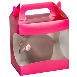 Boîte pour Poule en Chocolat 13x9x13 cm (x25)
